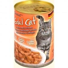Edel Cat 400гр 3 вида мяса птицы