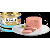 """Gourmet Gold """"Паштет с тунцом"""", консервированный корм для котов, 85гр"""