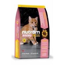 "Nutram S1 (Сухой корм класса ""ХОЛИСТИК"" для котят), 1,82кг"