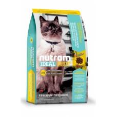 "Nutram I19  + ПОДАРОК!!! (Сухой корм класса ""ХОЛИСТИК"" для котов с проблемами желудка, кожи, шерсти), 1,82кг"