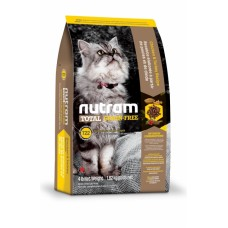 """Nutram T22 (Сухой без злаковый корм класса """"ХОЛИСТИК"""" для котов и котят с курицей и индейкой), 6,8кг"""