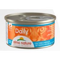 Консерва мусс Almo Nature Daily с тунцом и треской, 85г