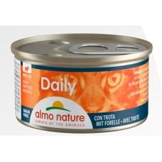 Консерва кусочки Almo Nature Daily с форелью, 85г