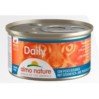 Консерва мусс Almo Nature Daily с океанической рыбой, 85г