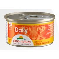 Консерва мусс Almo Nature Daily с курицей, 85г