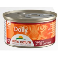 Консерва мусс Almo Daily Nature с уткой, 85г