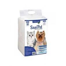 Пеленки для собак 60+45см Sanipet 50шт