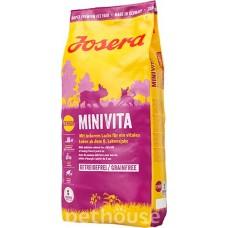 Беззерновой корм Josera Dog MiniVita для пожилых собак мини пород