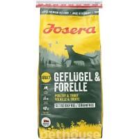 Сухой беззерновой корм Josera Dog Geflugel & Forelle