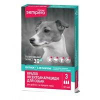 "Vitomax Капли противопаразитарные ""Sempero"" для собак 0,5 мл"