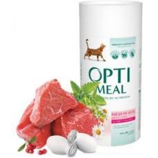 Optimeal сухой корм для котов с телятиной, 650гр.