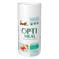 Optimeal сухой корм для котят с курицей, 650гр.