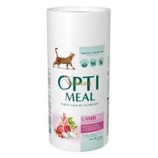 Optimeal сухой корм для котов с чувствительным пищеварением с ягненком, 650гр.