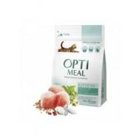 Optimeal консервированный корм для котят с курицей, 85гр.