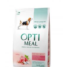 Optimeal сухой корм для щенков с индейкой, 1,5кг.