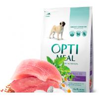 Optimeal сухой корм для собак мелких пород с уткой, 4кг.