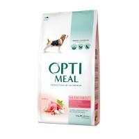 Optimeal сухой корм для собак средних пород с индейкой, 4кг.