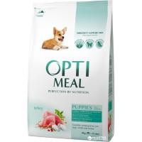 Optimeal сухой корм для щенков всех пород с индейкой, 4кг
