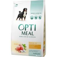 Optimeal сухой корм для собак крупных пород, 4кг