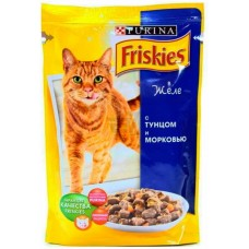 Фрискис k 100г тунец морковка желе