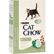 Cat Chow Sterilised (сухой кошачий корм для стерилизованных животных), 400гр