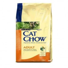 Cat Chow. Индейка курица  15 кг.