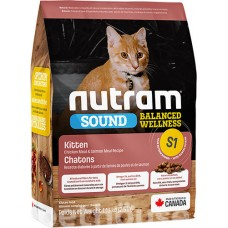 Nutram S1 сухой корм для котят