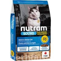 Nutram S5 для здоровья мочеполовой системы кошки