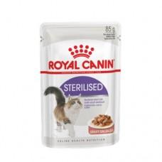 Влажный корм Royal Canin Sterilised Gravy кусочки в соусе, 85гр