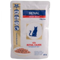 Консерва Royal Canin Renal для котов при почечной недостаточности, 85гр