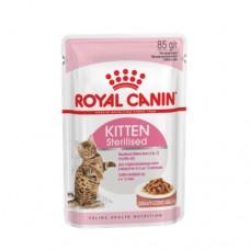 Влажный корм Royal Canin Kitten Sterilised для стерилизованных котят, 85гр