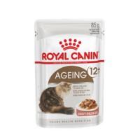 Влажный корм Royal Canin Ageing 12+ Gravy кусочки в соусе, 85гр
