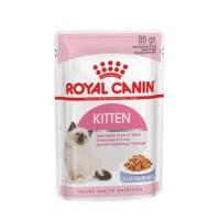 Влажный корм для котят Royal Canin Kitten Jelly желе, 85гр