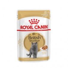 Консерва Royal Canin British Shorthair Adult кусочки в соусе, 85гр
