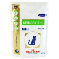 Влажный корм Royal Canin Urinary S/O Feline, 100гр