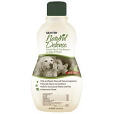 SENTRY Natural Defense шампунь от блох и клещей для собак и щенков