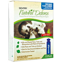 SENTRY Natural Defense капли от блох и клещей для собак