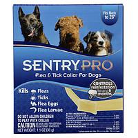 Sentry Pro ошейник для собак от блох, клещей, яиц и личинок блох