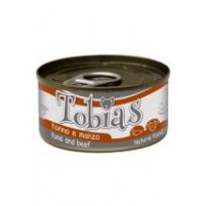 Tobias Консервы для собак с тунцом и говядиной