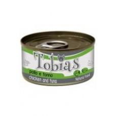 Tobias Консервы для собак с курицей и тунцом