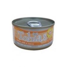 Tobias Menu Консервы для собак с говядиной,курицей и тыквой