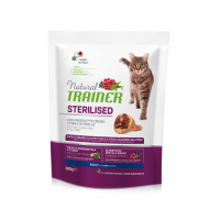 Trainer Natural Super Premium  Adult Sterilised with dry-cured ham