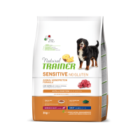 Natural Trainer Dog Sensitive Adult Medium&Maxi With Lamb