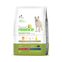 Natural Trainer Dog Sensitive Plus Adult MM With Rabbit