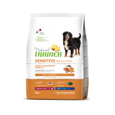 Natural Trainer Dog Sensitive Adult Medium&Maxi With Salmon