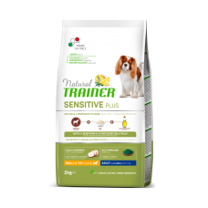 Natural Trainer Dog Sensitive Plus Adult Mini With Horse