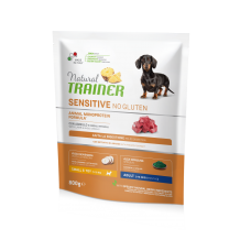Natural Trainer Dog Sensitive Adult Mini With Lamb and whole cereals