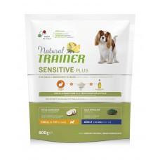Natural Trainer Dog Sensitive Plus Adult Mini With Rabbit