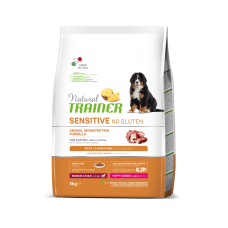 Natural Trainer Dog Sensitive Puppy&Junior Medium&Maxi With Duck ( 12 КГ )