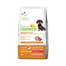 Natural Trainer Dog Sensitive Puppy&Junior Mini With Duck 2 kg